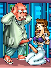 Futanari craze of Futurama